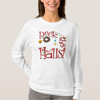 Camiseta Plataforma o t-shirt do Natal dos salões