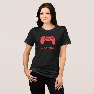 Camiseta PLAYER 2 feminina (Preta)