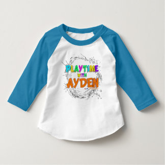 Camiseta Playtime com Ayden - t-shirt da criança