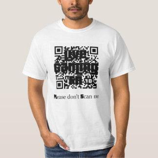 Camiseta PLease don' t Scan me