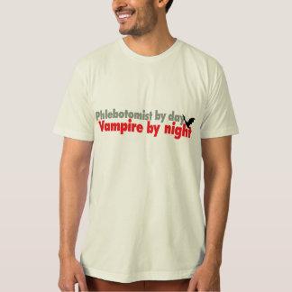 Camiseta Plebotomist em o dia