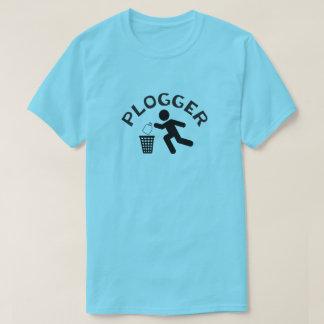 Camiseta Plogger com ícone Plogging do corredor