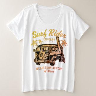 Camiseta Plus Size BBW mais o design do cavaleiro do tamanho