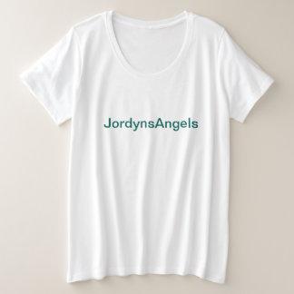 Camiseta Plus Size Bolo regular do Tshirt de JordynsAngels