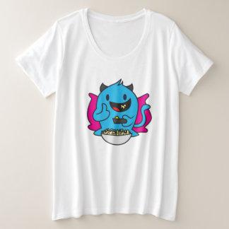 Camiseta Plus Size Estale os grãos!!