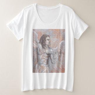 Camiseta Plus Size Mulher de Michael do arcanjo mais o t-shirt do