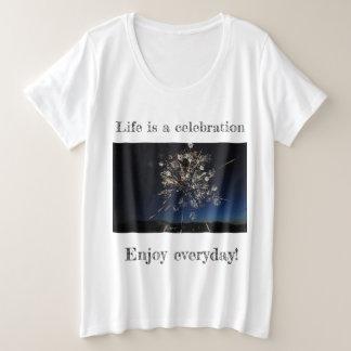 Camiseta Plus Size Provérbios inspirados