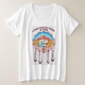 Camiseta Plus Size Senhoras tribais do protetor mais o t-shirt do