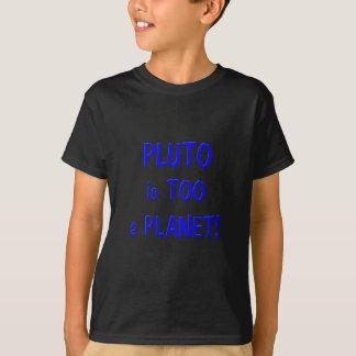 Camiseta Pluto é um planeta