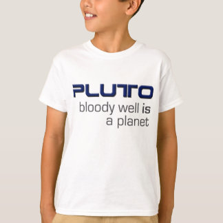Camiseta Pluto é um t-shirt do planeta