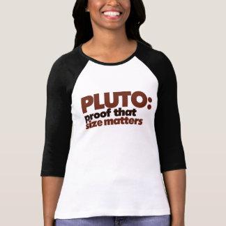 Camiseta Pluto: Impermeabilize que o tamanho importa