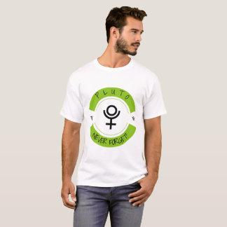Camiseta Pluto, nunca esquece