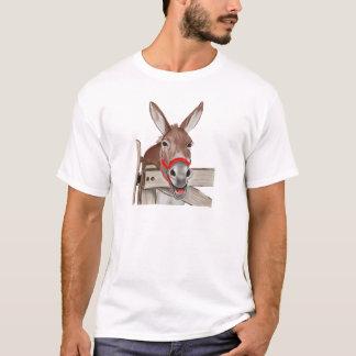 Camiseta Png feliz da mula