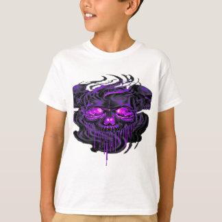 Camiseta Png roxo dos esqueletos de Nerpul
