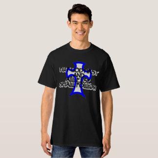 Camiseta pnha o deus primeiramente e tudo mais seguirá alto