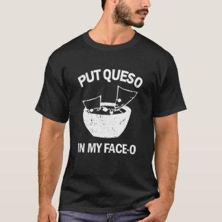 Camiseta Pnha Queso em meu t-shirt engraçado do queijo da