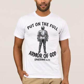 Camiseta PNHA SOBRE a ARMADURA COMPLETA de t-shirt do DEUS