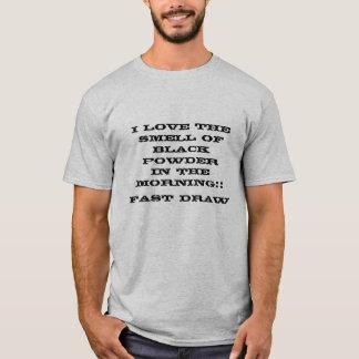 Camiseta Pó do preto na manhã
