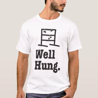 Camiseta poço pendurado