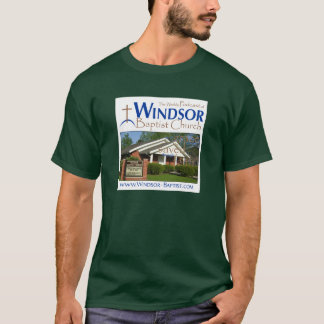 Camiseta Podcast da igreja baptista de Windsor