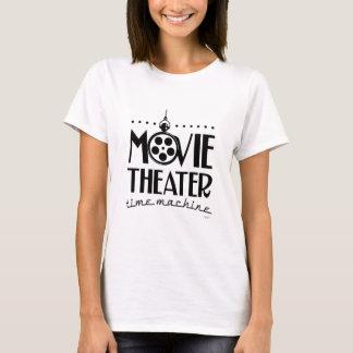 Camiseta Podcast da máquina do tempo do cinema