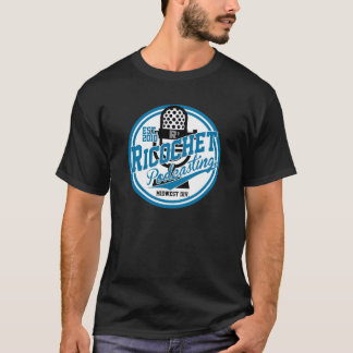 Camiseta Podcasting do Ricochet - divisão de Midwest