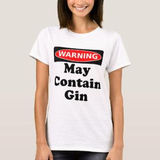 Camiseta Pode conter a gim