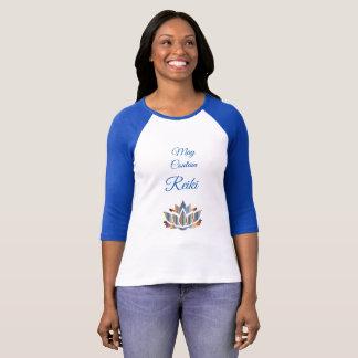 Camiseta Pode conter o design de Reiki