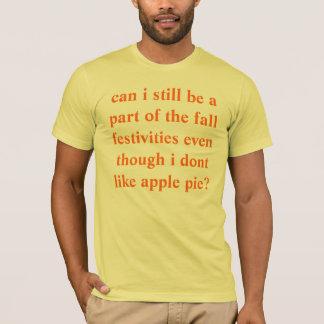 Camiseta pode i ainda assim ser uma parte das festividades