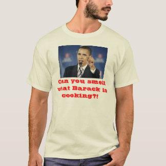 Camiseta Pode você cheirar que Barack está cozinhando?!