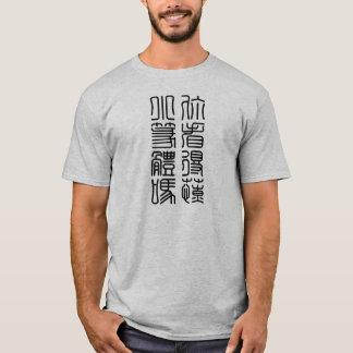Camiseta Pode você ler chineses antigos?