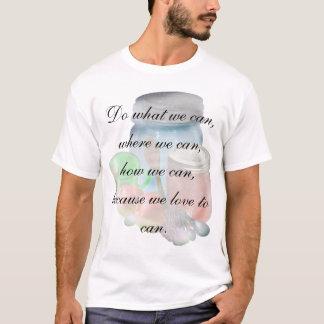 Camiseta Pode você pode fantasma, para fazer o que nós