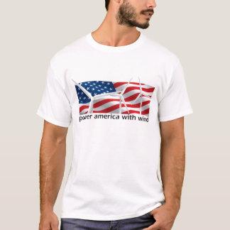 Camiseta Poder América com vento