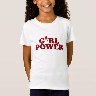 Camiseta Poder Bella da menina+Canvas cabidas