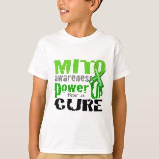 Camiseta Poder da consciência de Mito acima para uma cura