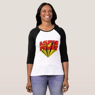 Camiseta Poder de Aspie com uma torção de 60s 3D