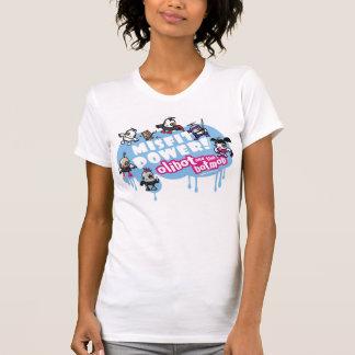 Camiseta Poder do desajuste! Olibot e o Botmob.