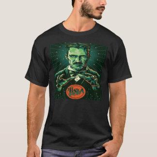 Camiseta poder do tesla do nikola