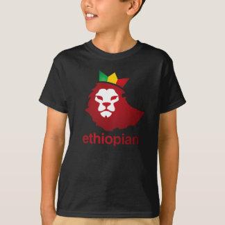 Camiseta Poder etíope - o Hanes básico Tagless dos miúdos