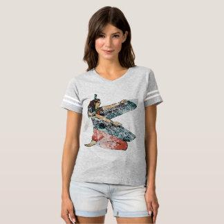 Camiseta Poder voado Maat egípcio da mulher da deusa da