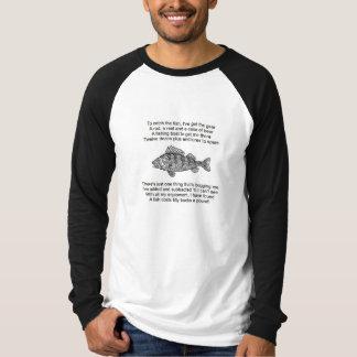 Camiseta Poema para o pescador