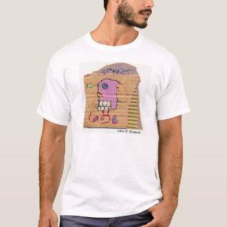 Camiseta Poesia visual por John M. Bennett