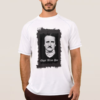 Camiseta Poeta gótico do quadro do Grunge de Edgar Allan