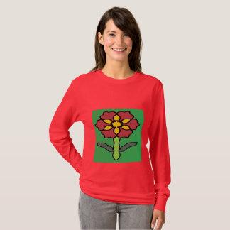 Camiseta Poinsétia bonito