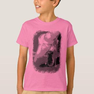 Camiseta Pointe calça o gráfico do dançarino