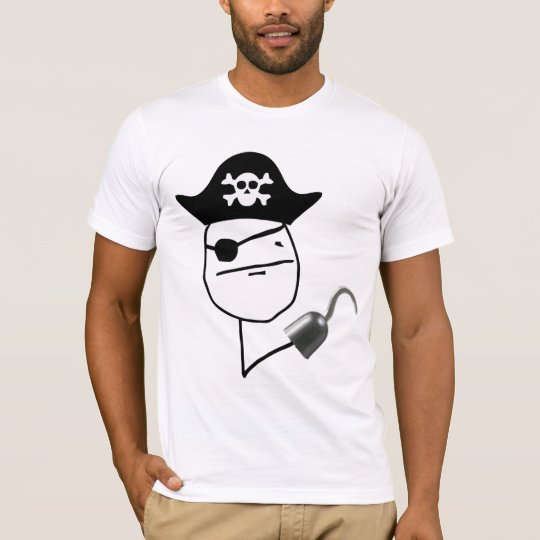 Camiseta Poker Face Pirata