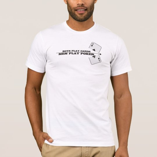 Camiseta poker men