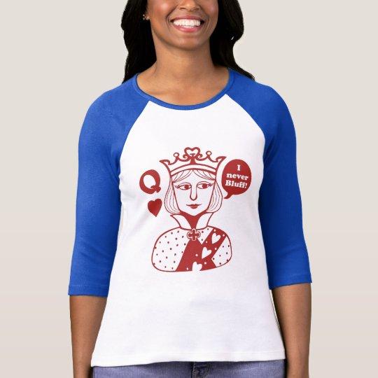 Camiseta poker queen