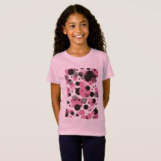 Camiseta Polcas cor-de-rosa