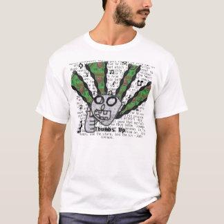 Camiseta Polegares acima para a música